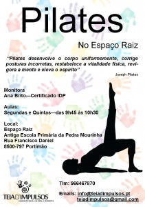 Prospeto Pilates